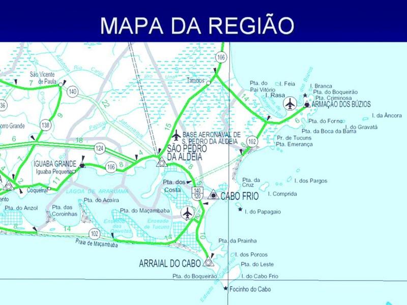 карта КАБО-ФРИО (Cabo Frio)